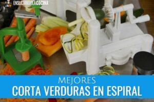 Mejores Cortadores de Verduras en Espiral Para Uso Casero